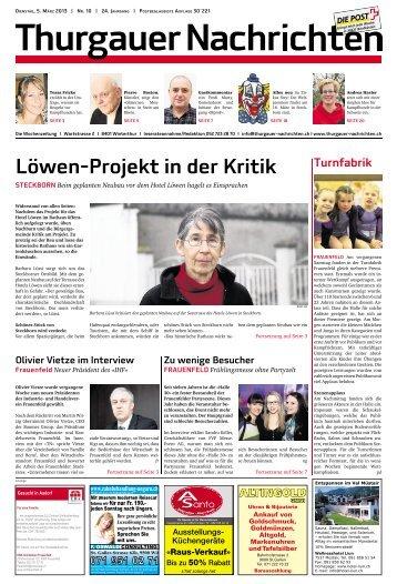 Löwen-Projekt in der Kritik - Aktuelle Ausgabe
