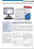 Partikelgrößenanalyse mit Statischer Laserlichtstreuung - Seite 5