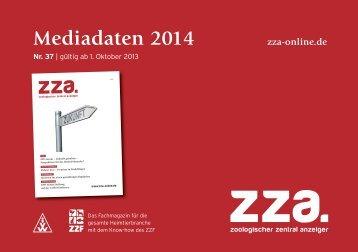 Mediadaten 2014 (d) - ZZA