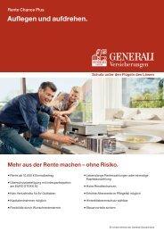 Generali Rente Chance Plus PDF - Volksfürsorge AG