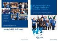 Broschüre zum Download (PDF) - Kids sind VIPs