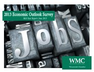 WMC Economic Outlook Survey Results - Wisconsin Manufacturers ...