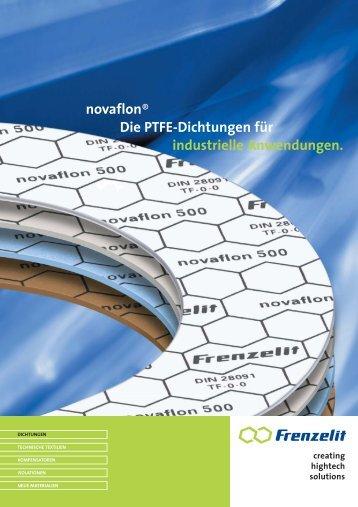 novaflon® Die PTFE-Dichtungen für industrielle Anwendungen.