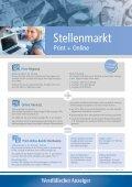 Mit dem richtigen Angebot zur Stelle - Stellenmarkt des ... - Seite 2