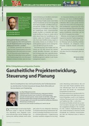 Ganzheitliche Projektentwicklung, Steuerung und Planung