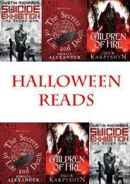 halloween reads - Del Rey UK