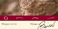 Weinliste (PDF) - Weingut Beiser