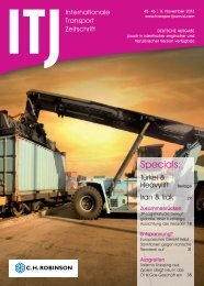 Specials: - ITJ | Transport Journal