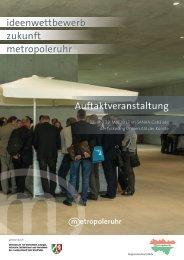 Auftaktveranstaltung ideenwettbewerb zukunft metropoleruhr