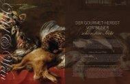 Gourmet in Autumn I Venison & Wine - Vienna Deluxe