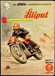 Zeitschrift Liliput Heft 07.1954; Die fröhliche Jugendzeitschrift