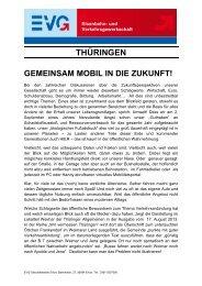 und Verkehrsgewerkschaft - Gemeinsam mobil in ... - Bodo Ramelow