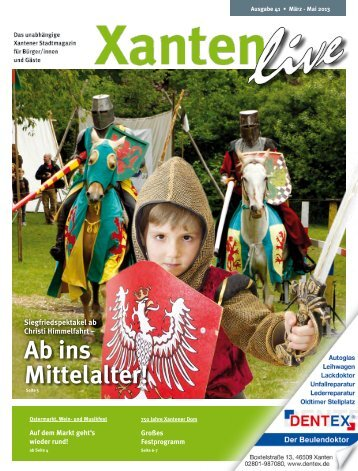 Ab ins Mittelalter! - Xanten Live