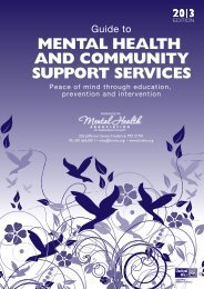 View the 2013 Guide - Frederick County Mental Health Association