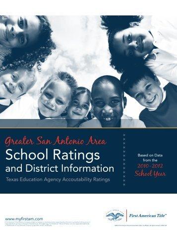 San Antonio School District (4Mb -- PDF) - First American Corporation
