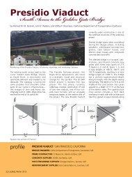 Presidio Viaduct - Aspire - The Concrete Bridge Magazine
