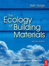 The Ecology of Building Materials, Second Edition - Eco Books