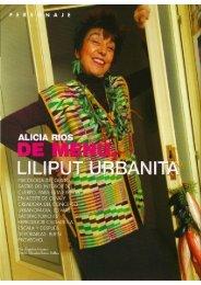'Alicia Rios- De Menu, Liliput Urbanita,' Sibaritas, 1.jpg