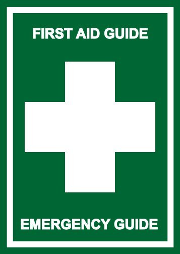 FIRST AID GUIDE EMERGENCY GUIDE - Pronto Safety