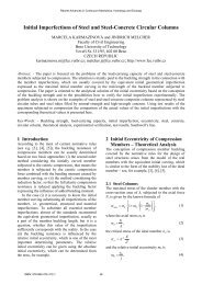 Initial Imperfections of Steel and Steel-Concrete Circular ... - Wseas.us