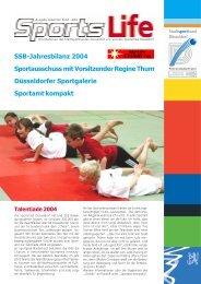 Ausgabe 04/2004 - Stadtsportbund Düsseldorf
