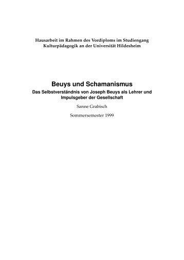 Beuys und Schamanismus