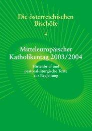 Heft Nr.4 - Mitteleuropäischer Katholikentag