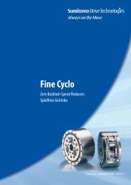 Fine Cyclo - Sumitomo (SHI) Cyclo Drive Germany GmbH