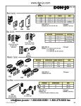 Don-Jo Bolts Latches.pdf - Access Hardware Supply - Page 2