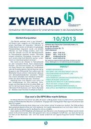 Zweirad 10-2013 - VDZ