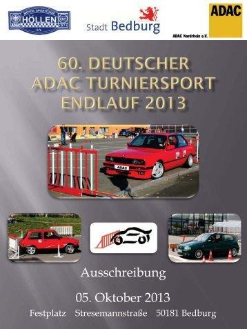 Ausschreibung 05. Oktober 2013 - PKW-Turniersport.de