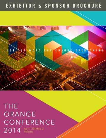 brochure - Orange Conference