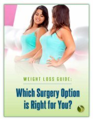 Weight Loss Guide - Blog - Riverside Surgical and Weight Loss Center