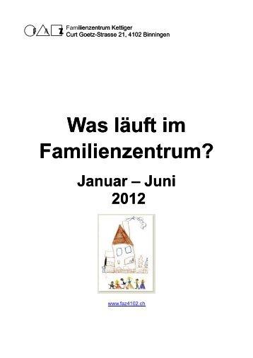 Was läuft im Familienzentrum? - Familienzentrum FAZ Binningen ...