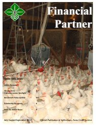 July/August/September 2013 - AgHeritage Farm Credit Services