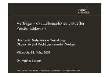 Präsentation Mathis Berger