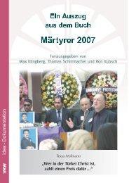 Wer in der Türkei Christ ist, zahlt einen Preis dafür - Martin Bucer ...