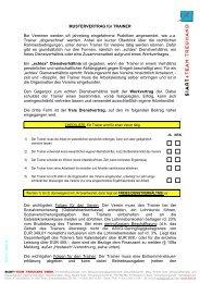 Abrechnung von Trainern im Sport - Siart und Team Treuhand GmbH