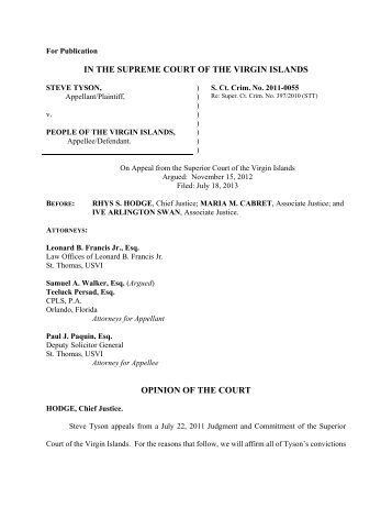 Download Opinion - Supreme Court of the Virgin Islands