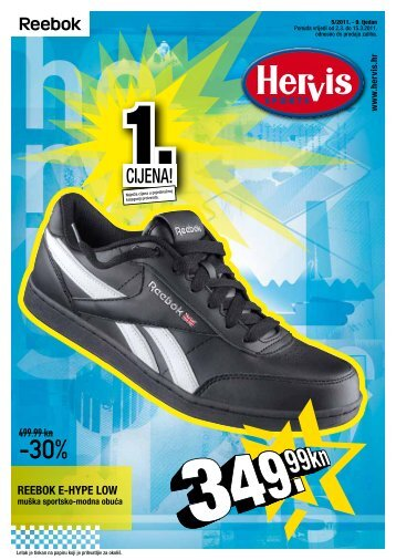 REEBOK E-HYPE LOW - Hervis