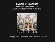 Event Urbanism Expo '70 As Precedent To Re-Examine Asian ...