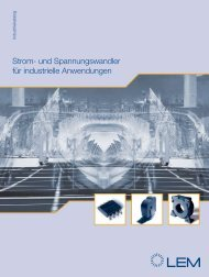 Strom- und Spannungswandler für industrielle Anwendungen