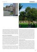 Pflegeleichte Grabstätten harmonisch integriert - die auslese - Page 5