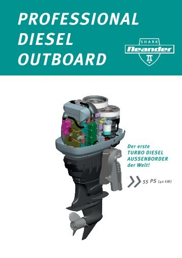 PROFESSIONAL DIESEL OUTBOARD - MARX