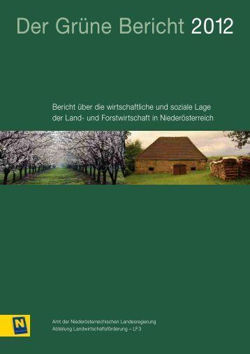 Bericht - Das Land Niederösterreich