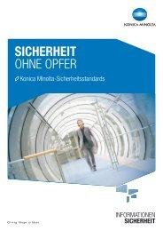 Security Brochure, PDF - Konica Minolta