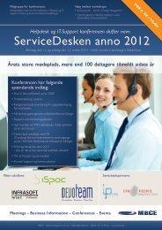 ServiceDesken anno 2012 - MBCE