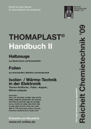 Thomaplast II Halbzeuge - ZUMA Chemietechnik