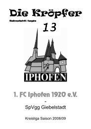 13 - 1. FC Iphofen 1920