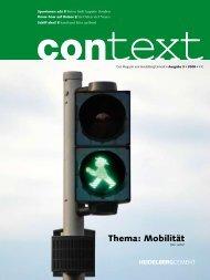 Thema: Mobilität - HeidelbergCement